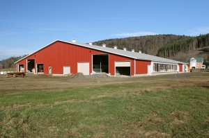 Ayers Brook Goat Barn